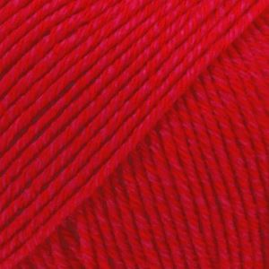 Drops Cotton merino unicolour 06 red