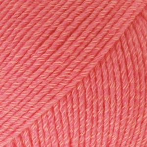 Drops Cotton merino unicolour 13 coral